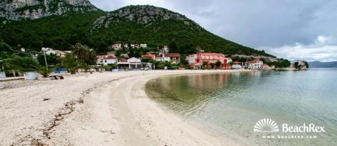Croatia - Dalmatia  Dubrovnik -  Klek - Beach Klek