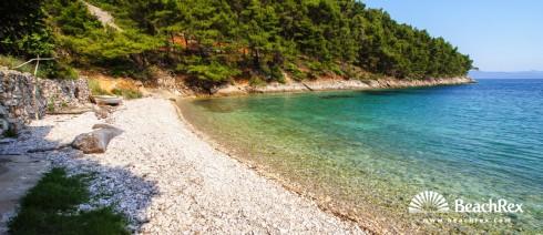 Croatia - Dalmatia  Split - Island Hvar -  Bogomolje - Beach Mali Pelinovik