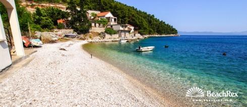 Croatia - Dalmatia  Split - Island Hvar -  Bogomolje - Beach Pelinovik