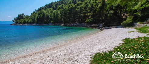 Croatia - Dalmatia  Split - Island Hvar -  Bogomolje - Beach Kozja
