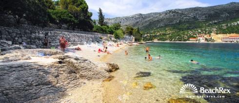 Croatia - Dalmatia  Dubrovnik -  Zaton - Beach Zaton Veliki