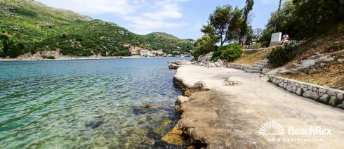 Croatia - Dalmatia  Dubrovnik -  Zaton - Beach Soline