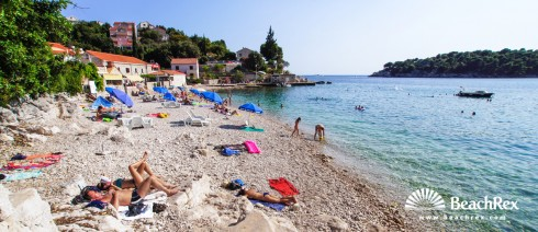 Croatia - Dalmatia  Dubrovnik -  Zaton - Beach Štikovica