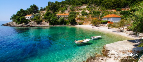 Croatia - Dalmatia  Split - Island Hvar -  Gdinj - Beach Torac