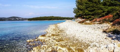 Croatia - Dalmatia  Šibenik - Island Murter -  Jezera - Beach Guščica