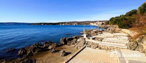Croatia - Kvarner - Island Krk -  Krk - Beach Dražica