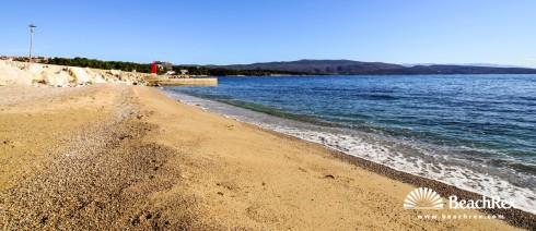 Croatia - Kvarner - Island Krk -  Krk - Beach Porporela