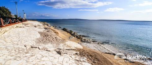 Croatia - Dalmatia  Zadar - Island Pag -  Mandre - Beach Mandre