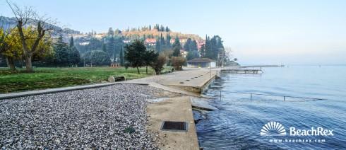 Slovenia - Obalno kraška -  Strunjan - Beach Salinera