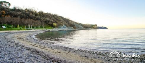 Slovenia - Obalno kraška -  Izola - Beach Simonov zaliv