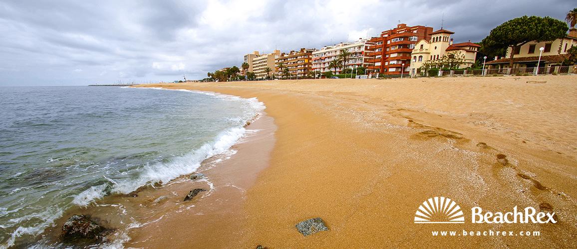 Spain - Àmbit metropolità -  Sant Vicenç de Montalt - Beach La Riera