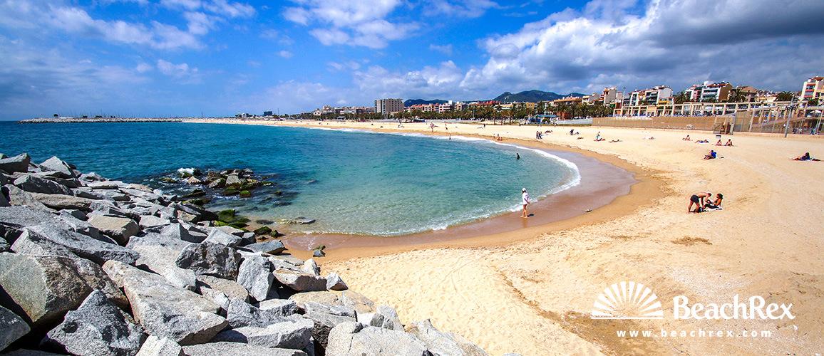 Spain - Àmbit metropolità -  Mataró - Beach Varadero