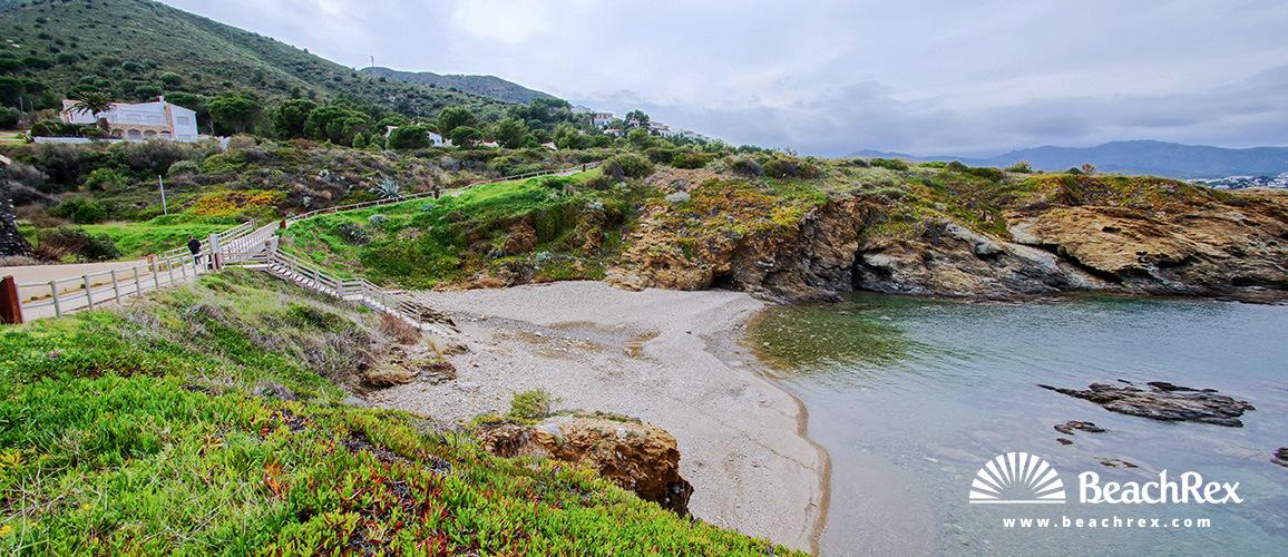 Spain - Comarques gironines -  El Port de la Selva - Beach Podaire