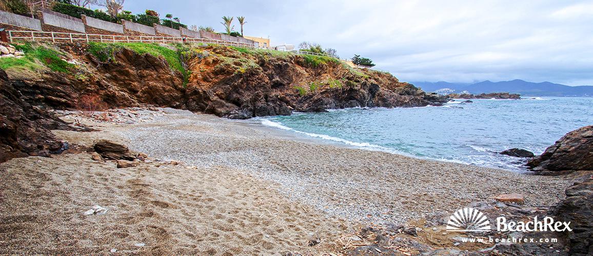 Spain - Comarques gironines -  El Port de la Selva - Beach Naples