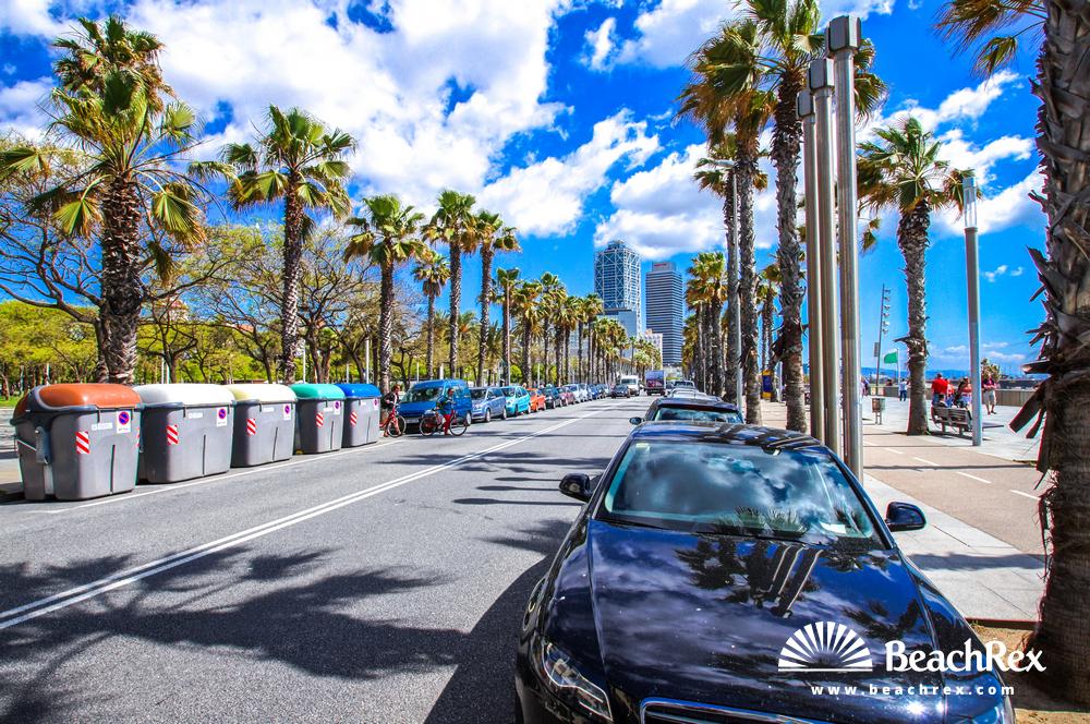 Spain - Àmbit metropolità -  Barcelona - Beach de la Barceloneta