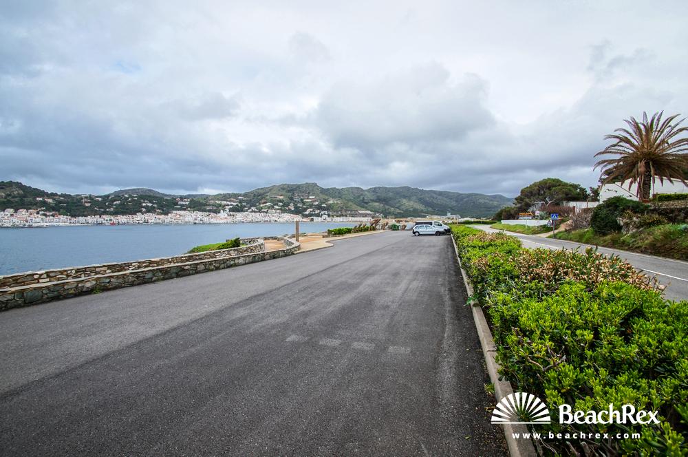 Spain - Comarques gironines -  El Port de la Selva - Beach Perabeua