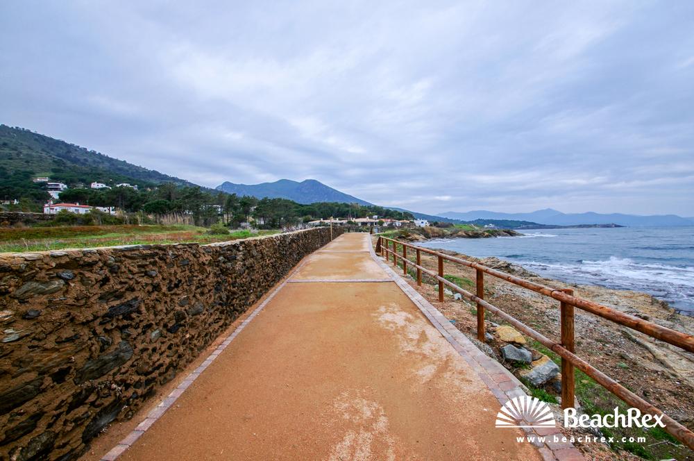 Spain - Comarques gironines -  El Port de la Selva - Beach Sobrevent
