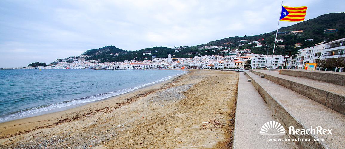 Spain - Comarques gironines -  El Port de la Selva - Beach de la Ribera