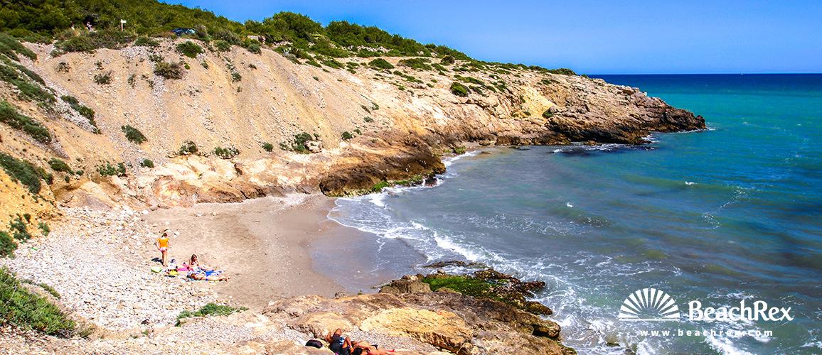 Spain - Àmbit metropolità -  Vilanova i la Geltrú - Beach dels Colls
