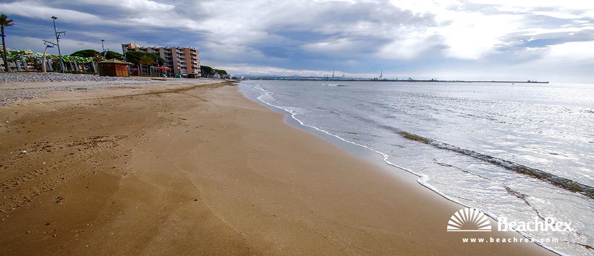 Spain - Camp de Tarragona -  Vila-seca - Beach de la Pineda I del Raco