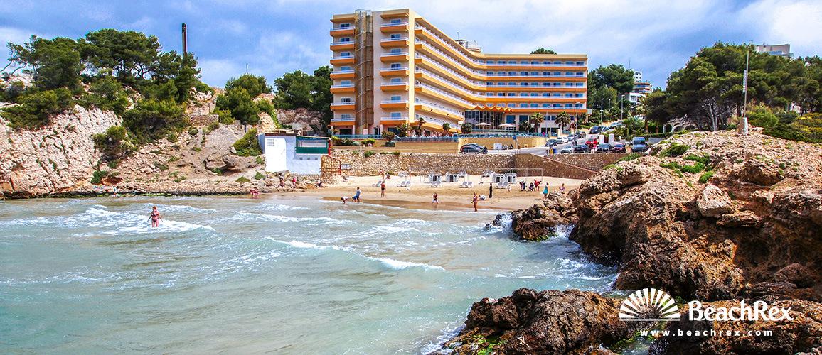 Spain - Camp de Tarragona -  Salou - Beach Vinya & Cala Font