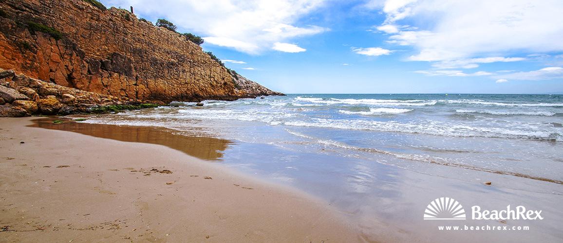 Spain - Camp de Tarragona -  Salou - Beach de la Penya Tallada