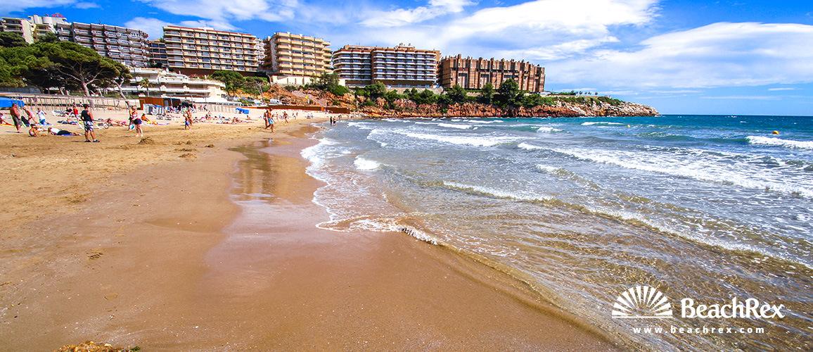 Spain - Camp de Tarragona -  Salou - Beach dels Capellans