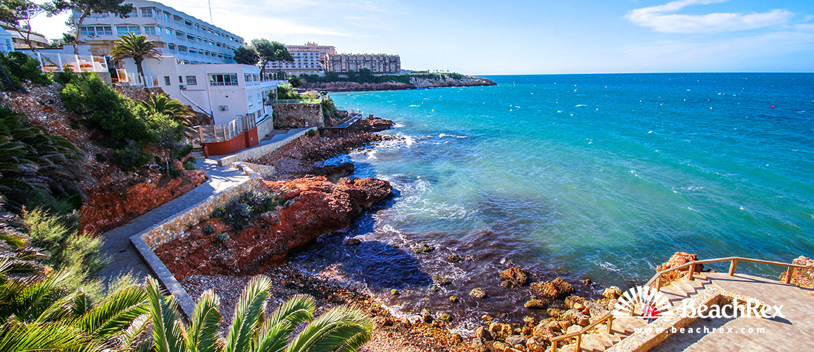 Spain - Camp de Tarragona -  Salou - Beach dels Pilons
