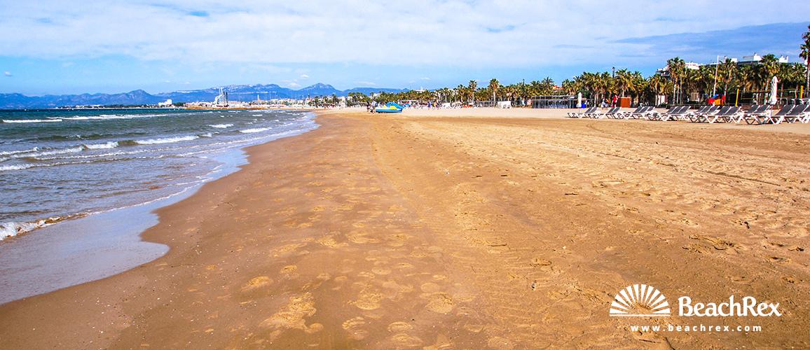 Spain - Camp de Tarragona -  Salou - Beach de Llevant