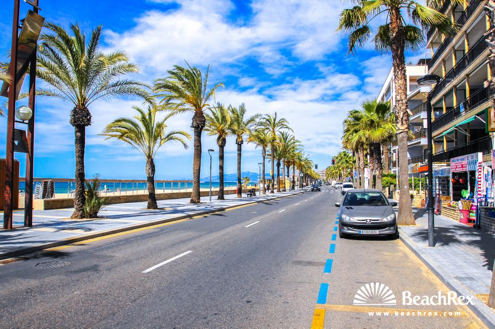Spain - Camp de Tarragona -  Salou - Beach de Ponent