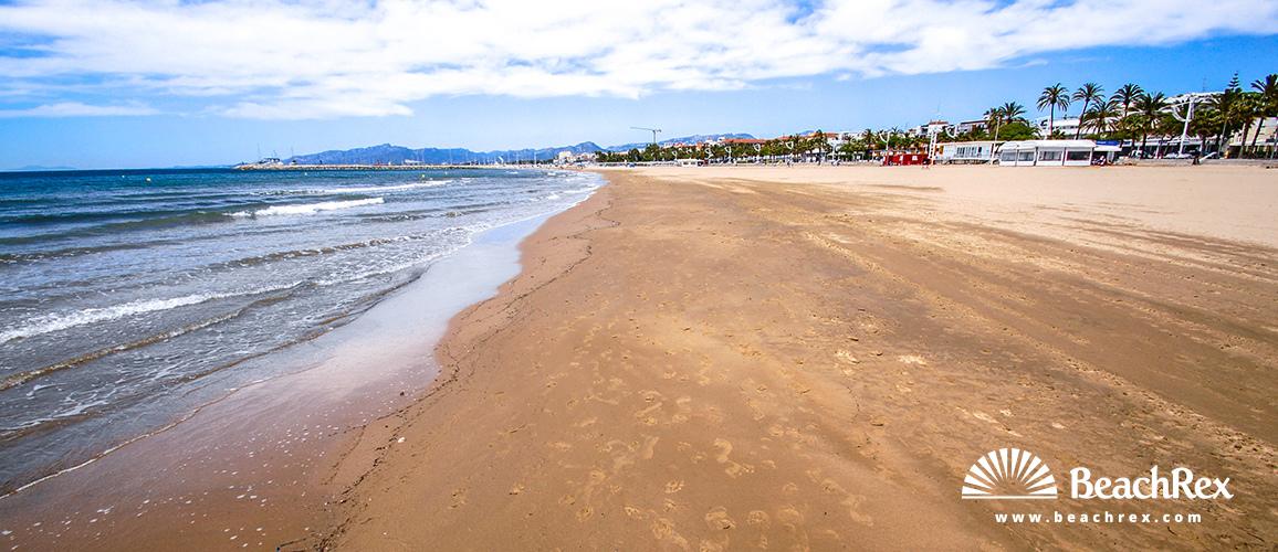 Spain - Camp de Tarragona -  Cambrils - Beach del Prat d'en Fores