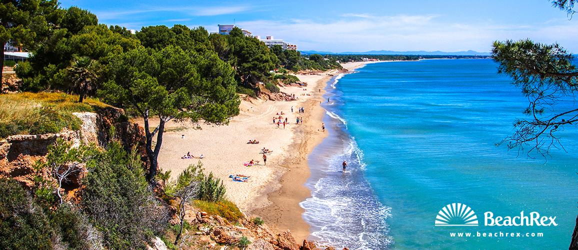 Spain - Camp de Tarragona -  Miami platja - Beach dels Penyals