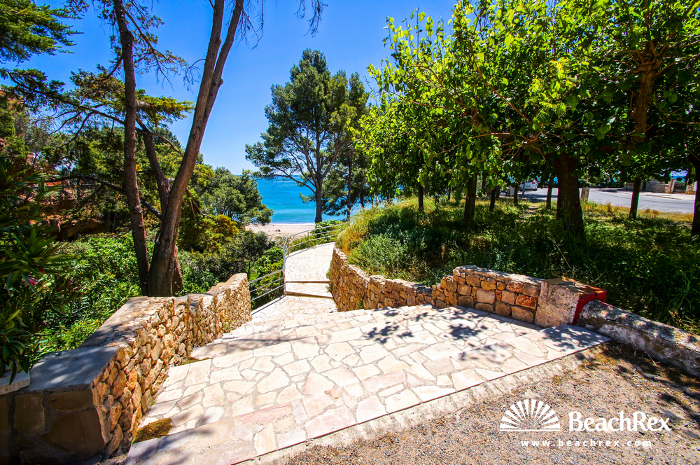 Spain - Camp de Tarragona -  Miami platja - Beach de les Sirenes