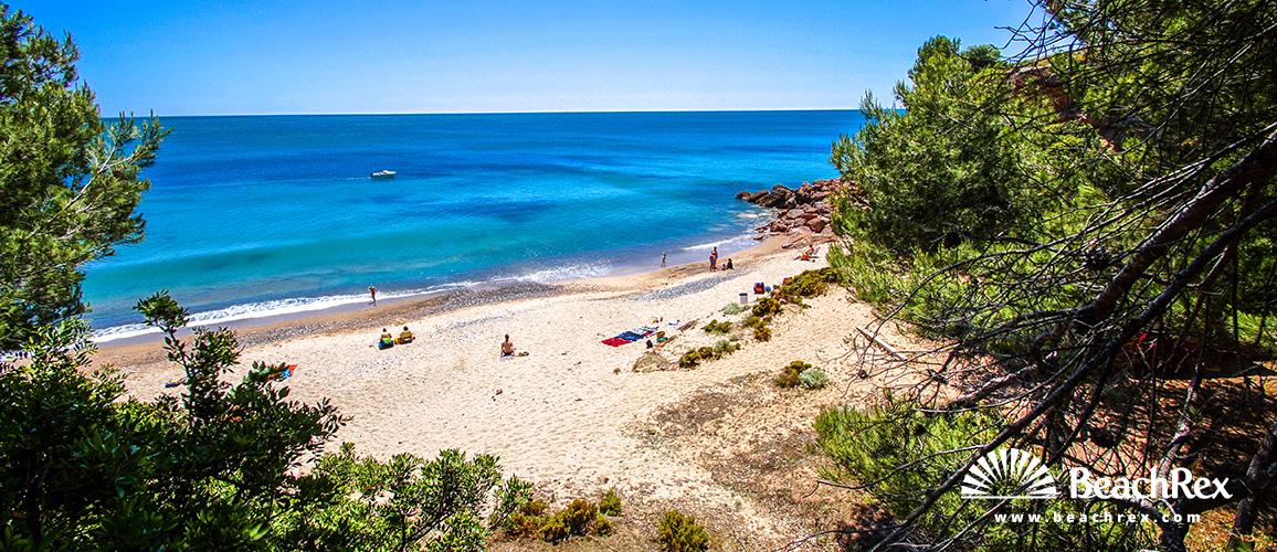 Spain - Camp de Tarragona -  Miami platja - Beach del Solitari