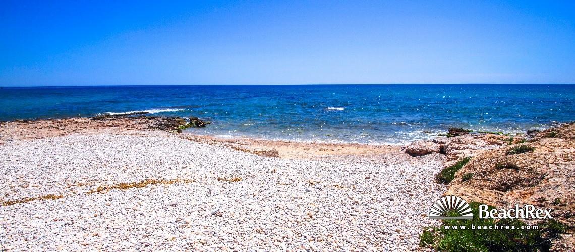 Spain - Camp de Tarragona -  Calafat - Platja Comú de Veïns