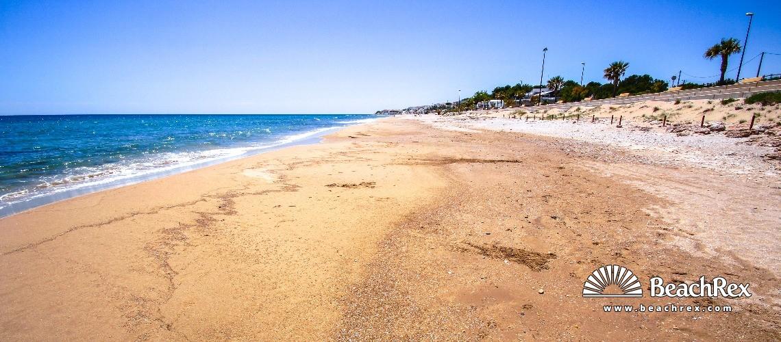 Spain - Camp de Tarragona -  Calafat - Platja L'Almadrava