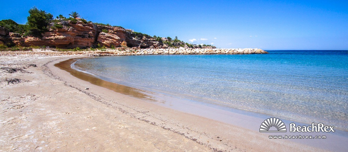 Spain - Camp de Tarragona -  Calafat - Platja de Calafat
