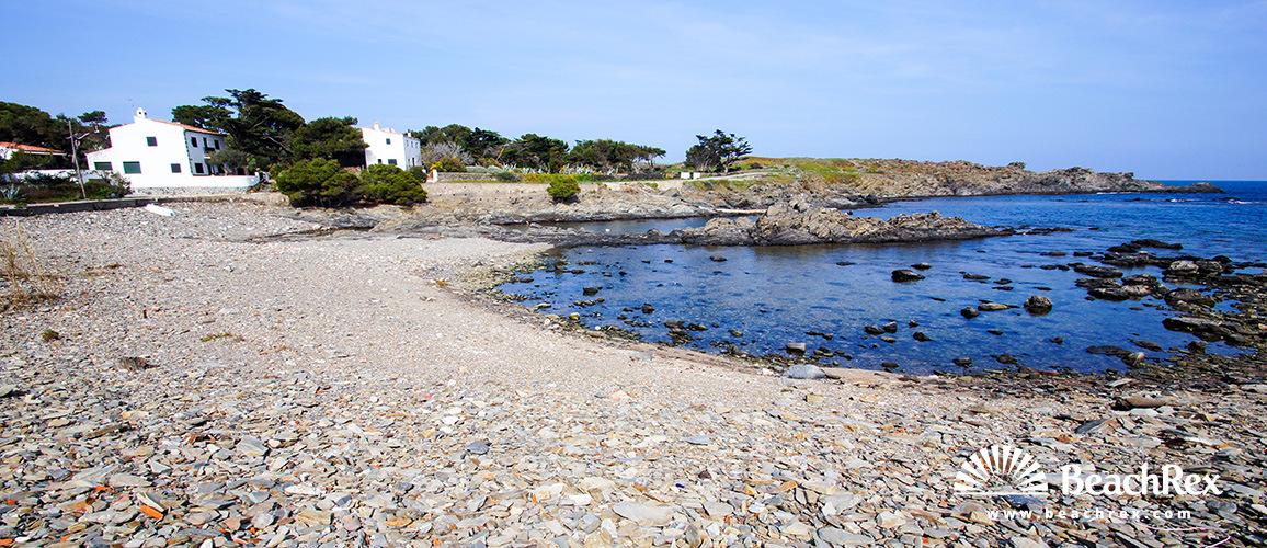 Spain - Comarques gironines -  Cadaqués - Beach des Caials