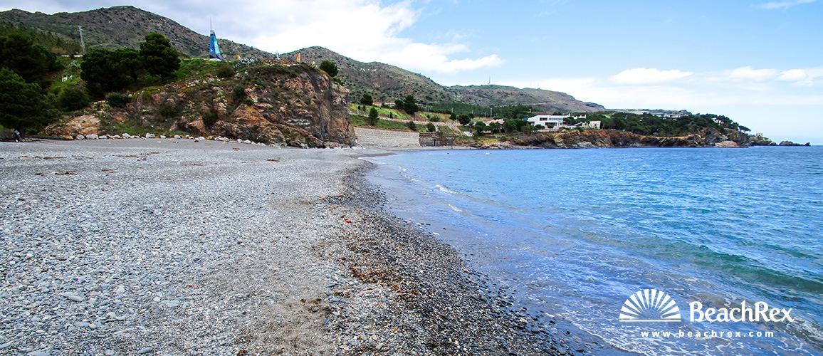 Spain - Comarques gironines -  Colera - Beach del Morts