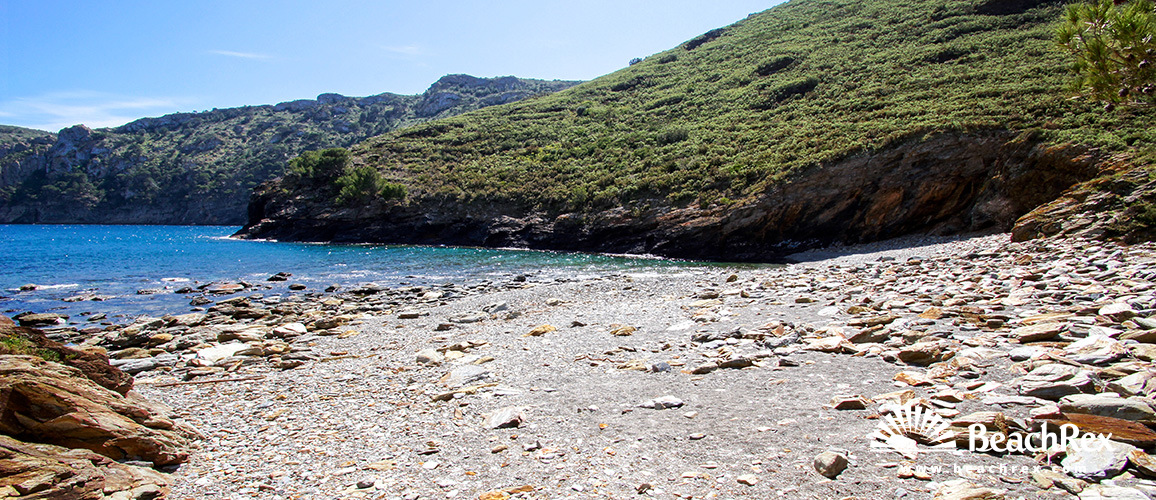 Spain - Comarques gironines -  Roses - Beach del Canadell