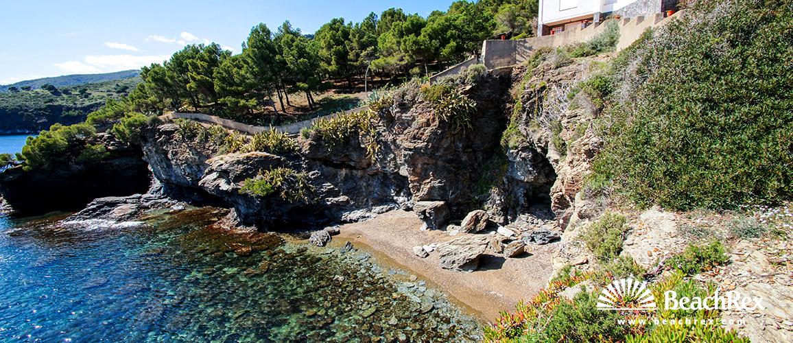 Spain - Comarques gironines -  Roses - Beach Agueda