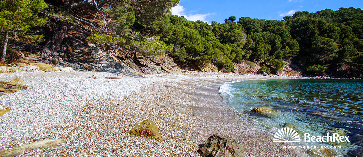 Spain - Comarques gironines -  Roses - Beach Rostella