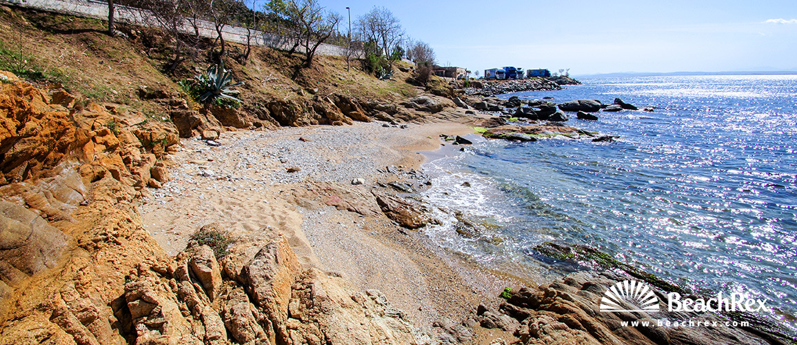 Spain - Comarques gironines -  Roses - Beach del Far