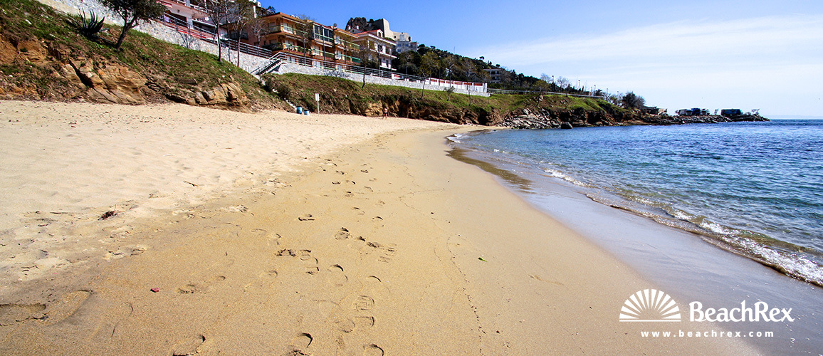 Spain - Comarques gironines -  Roses - Beach dels Palangrers