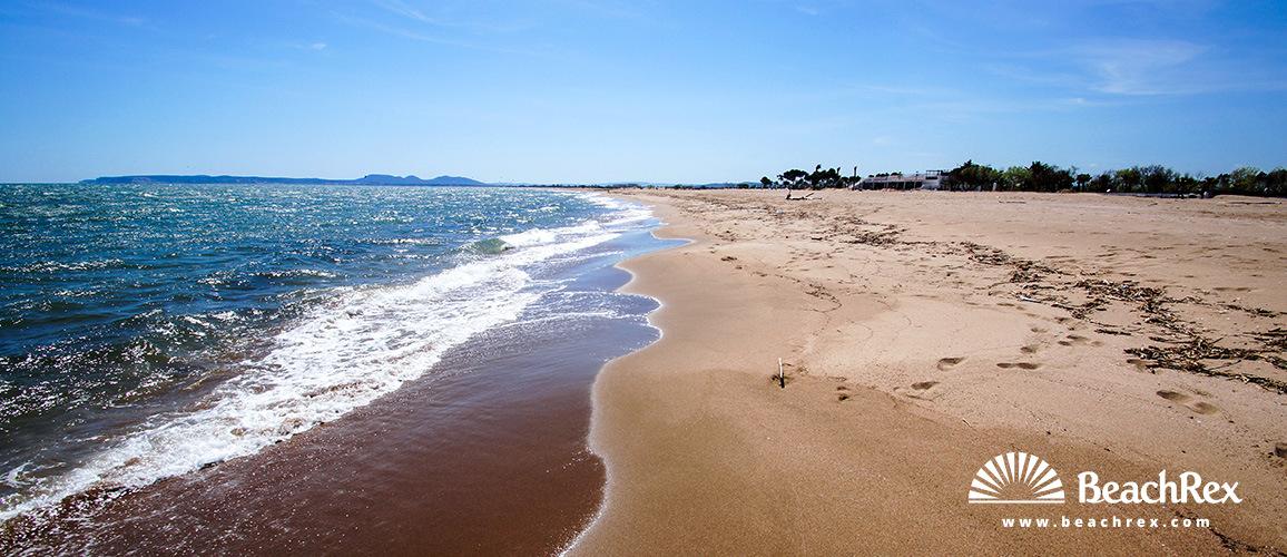 Spain - Comarques gironines -  Empuriabrava - Beach Can Comes