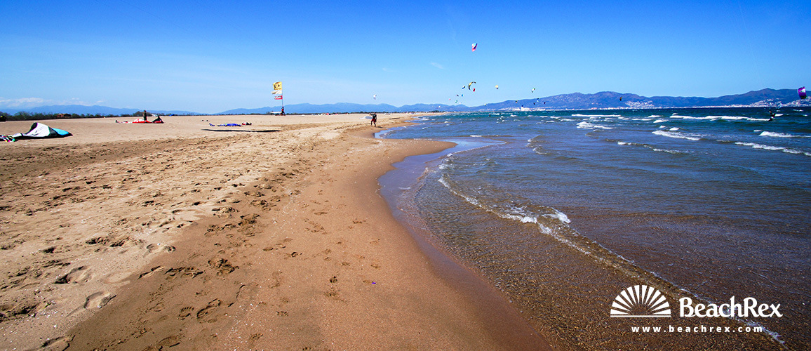 Spain - Comarques gironines -  Sant Pere Pescador - Beach Sant Pere Pescador