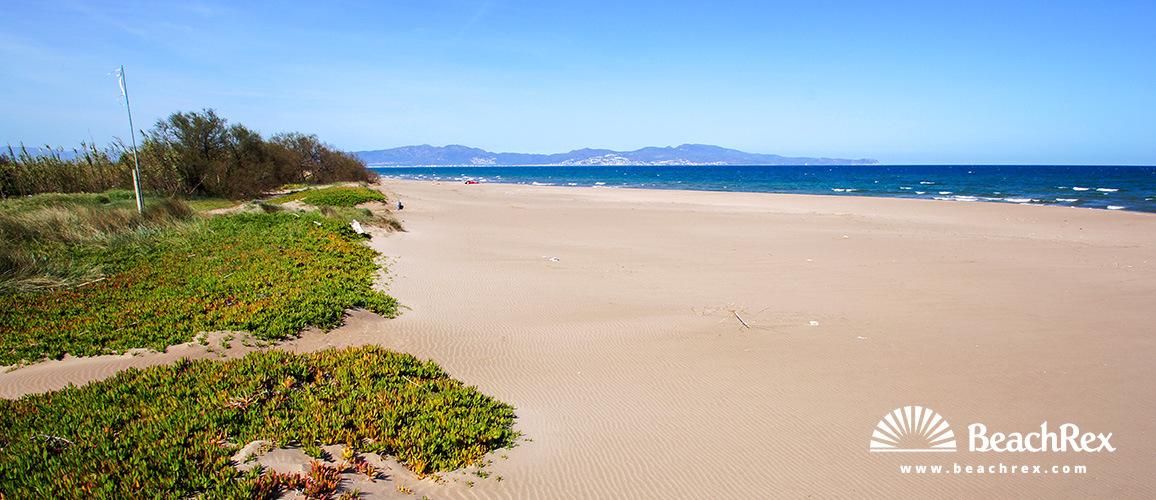Spain - Comarques gironines -  Sant Pere Pescador - Beach de les Dunes