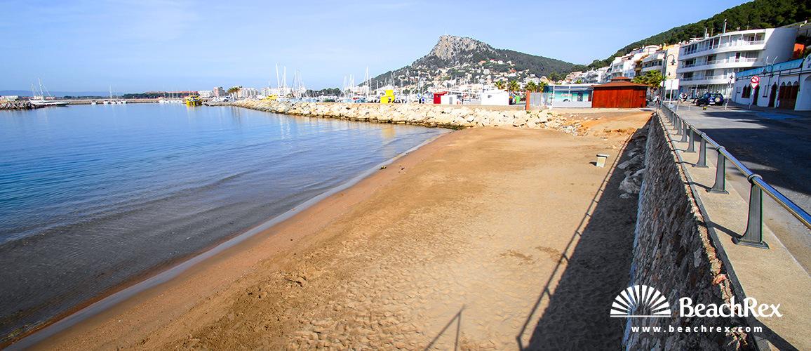 Spain - Comarques gironines -  Torroella de Montgrí - Beach La Platgeta