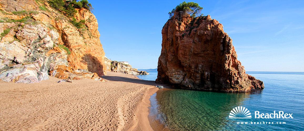 Spain - Comarques gironines -  Bergur - Beach de l'Illa Roja