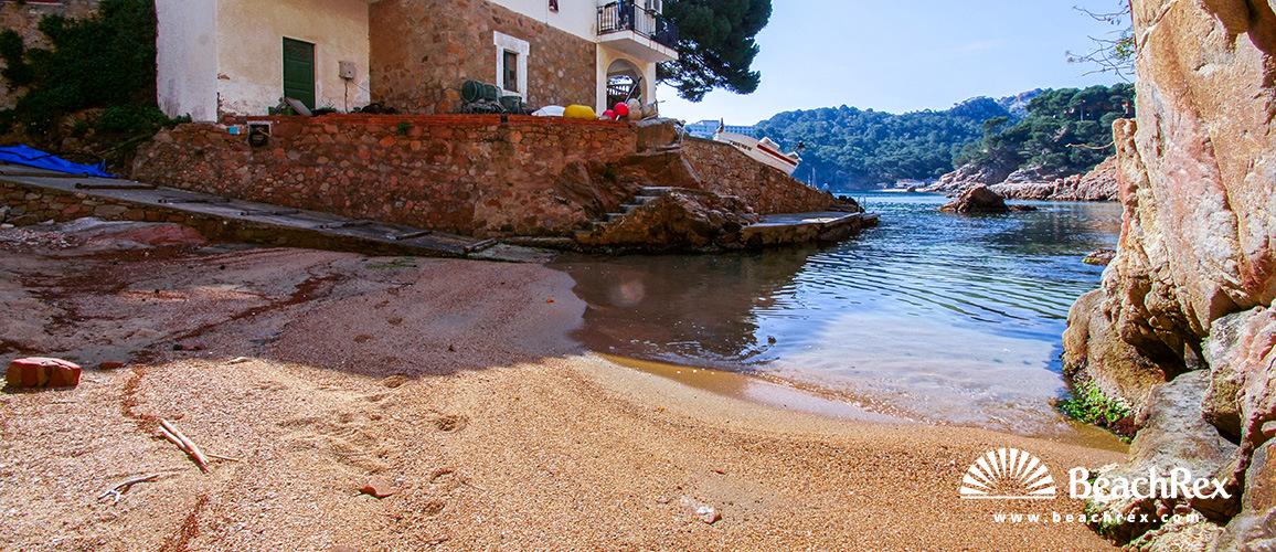 Spain - Comarques gironines -  Begur - Beach Aigua Blava